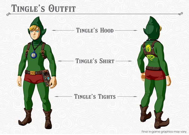 Tingles Outfit