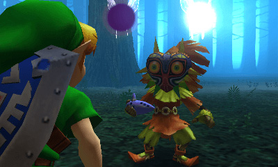 Link and Skull Kid