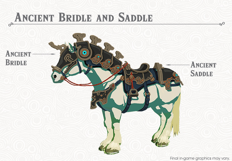 Ancient Bridle and Saddle